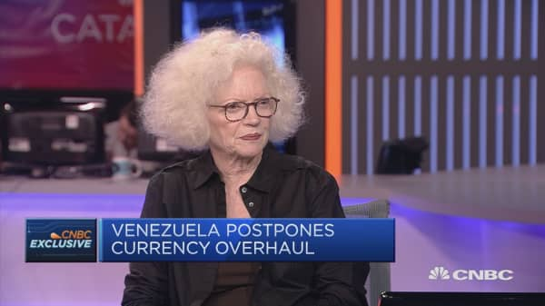Redomination of Venezuelan currency a cosmetic move: former central banker