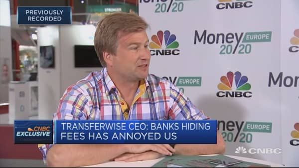 Banks see they can't do everything, so partnering with smaller fintech: Transferwise CEO