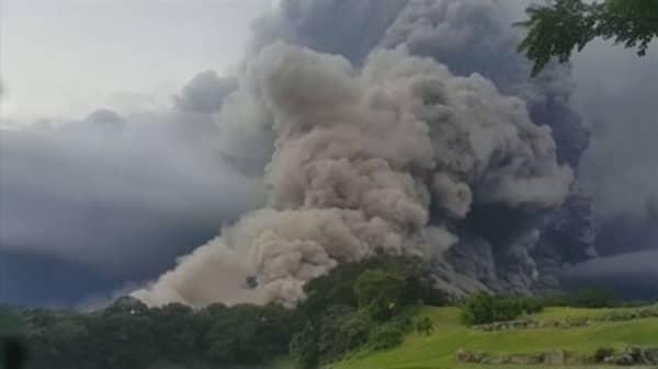 Guatemala volcano eruption kills at least 25 people