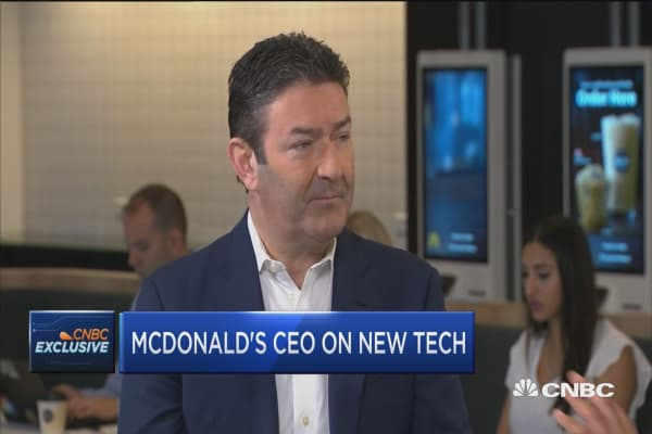 McDonald's CEO: Offering customers new ordering options