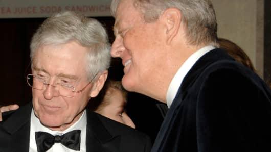 David and Charles Koch.
