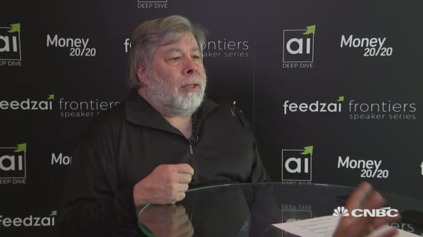 Bitcoin is 'very interesting,' Apple co-founder Steve Wozniak says