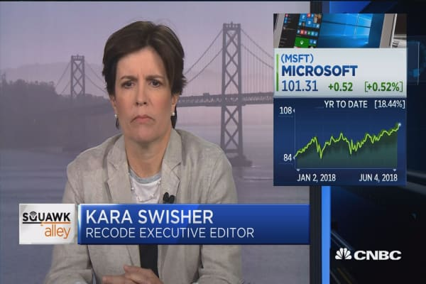 GitHub fits rather nicely with Microsoft, says Recode's Kara Swisher