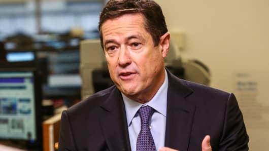 Jes Staley, CEO, Barclays Plc