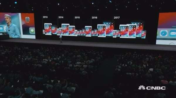Apple unveils new iOS at WWDC 2018