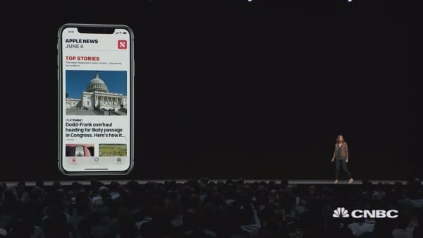iOS 12 brings stocks into the News app