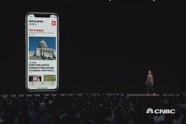 iOS 12 brings stocks into the News app