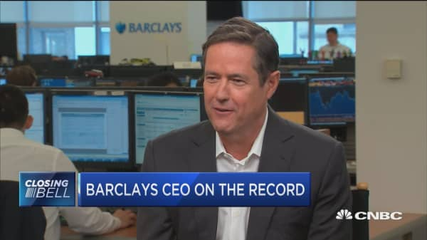 Barclays CEO: Markets are not immune from geopolitical risk