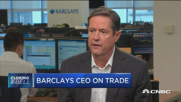 Barclays CEO: We've gained share in markets business