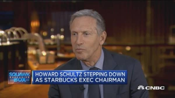 Howard Schultz: My departure has been planned for over a year