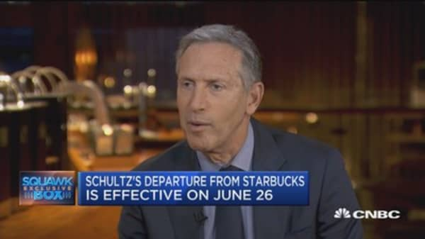 Howard Schultz: There's a lot of things I can do as a private citizen