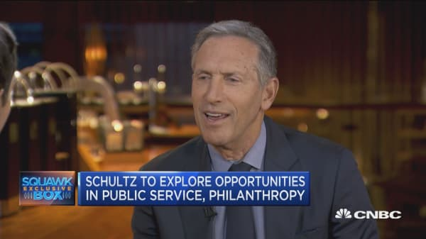 Howard Schultz: There's a big difference between running a private vs. public company