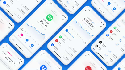 "Revolut's commission-free trading platform ""Wealth."""