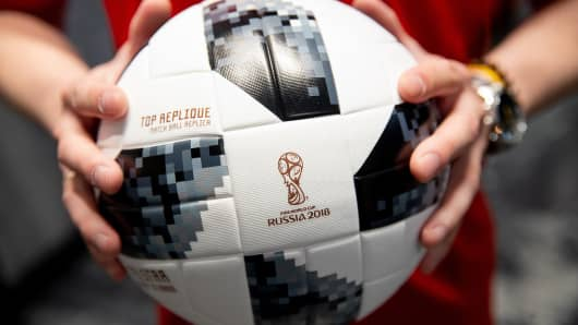 The 2018 FIFA World Cup official match ball.