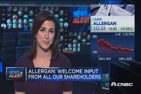 Allergan responds to Appaloosa's calls for management changes