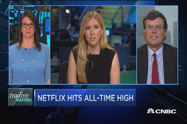 Trading Nation: Netflix up 90% in 2018