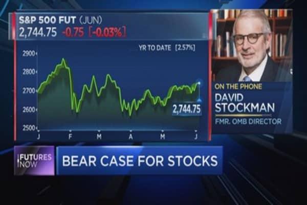David Stockman: Trump tax cuts are 'irresponsible crazy,' Wall Street heading for financial shock
