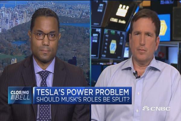 Should Musk's roles be split within Tesla?