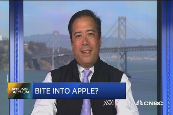 Options traders bet Apple's big run far from over