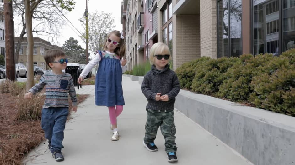 Aviator sunglasses for kids have made millions for this military family