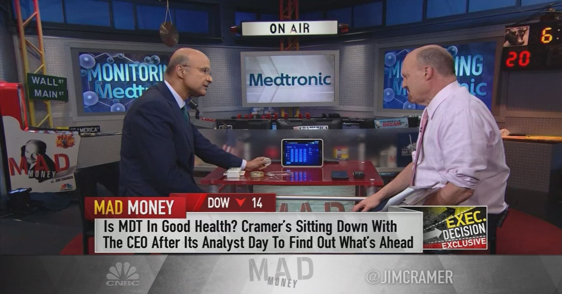 Medtronic CEO: Our new 'artificial pancreas' tech can help diabetes  patients make more intelligent choices