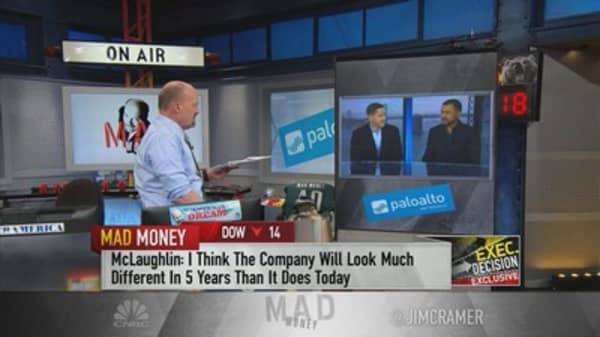 Nikesh Arora on taking over Palo Alto Networks