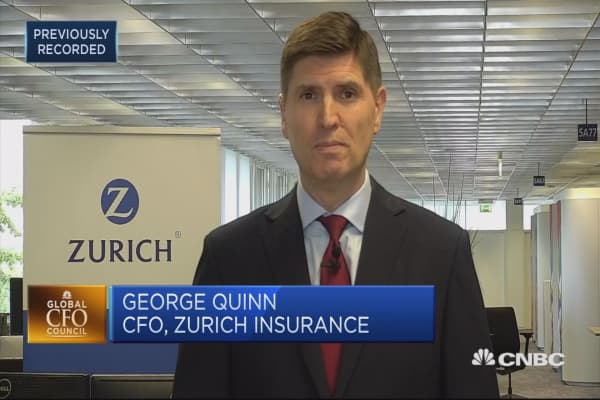 Challenge for insurance companies is that business is typically local: Zurich CFO