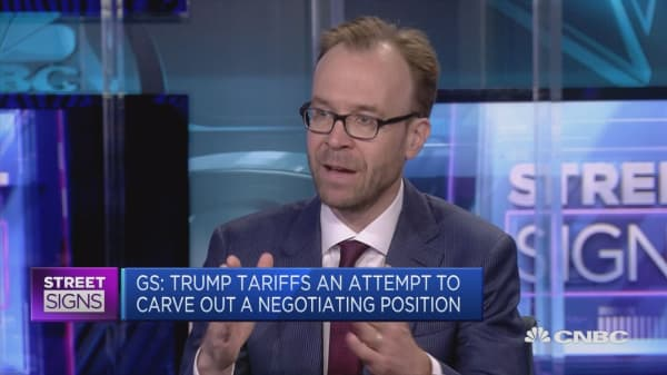 Economists don't view tariffs as a macro concern, analyst says