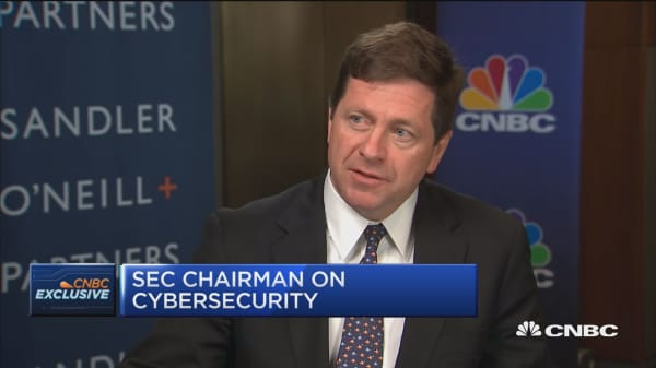 SEC chairman: Like to see more disclosure of cyber risk