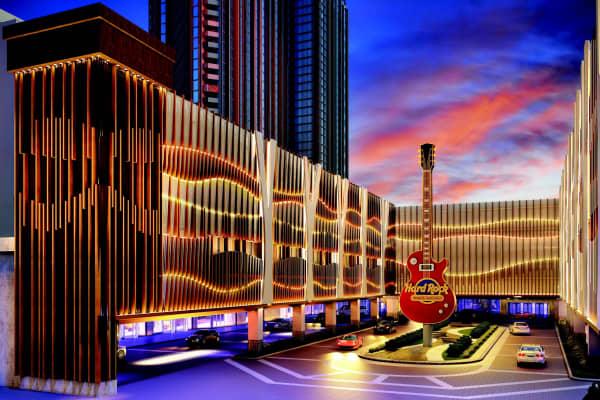 The new Hard Rock Hotel Atlantic City