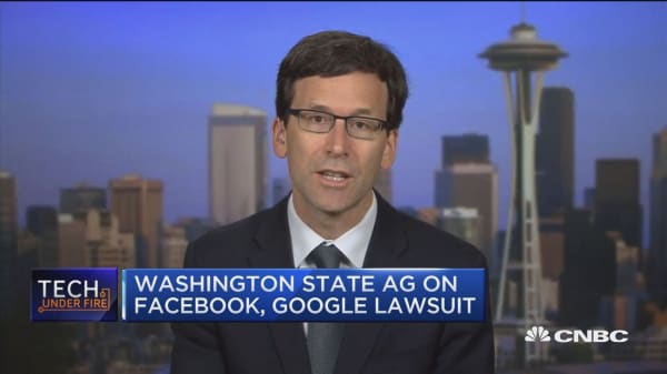 Washington AG explains political ad lawsuit against Facebook and Google