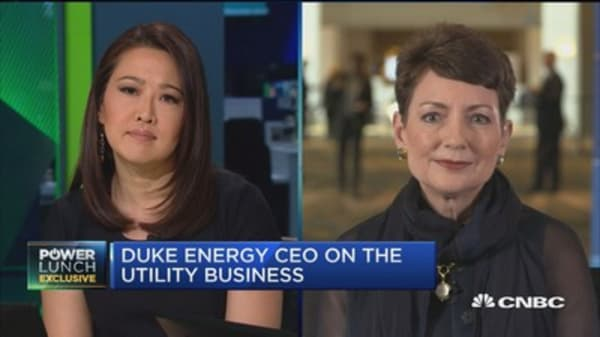 Duke Energy CEO: Investing in infrastructure is important
