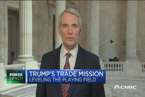 Sen. Portman: Trump's ultimate goal on trade is the right one