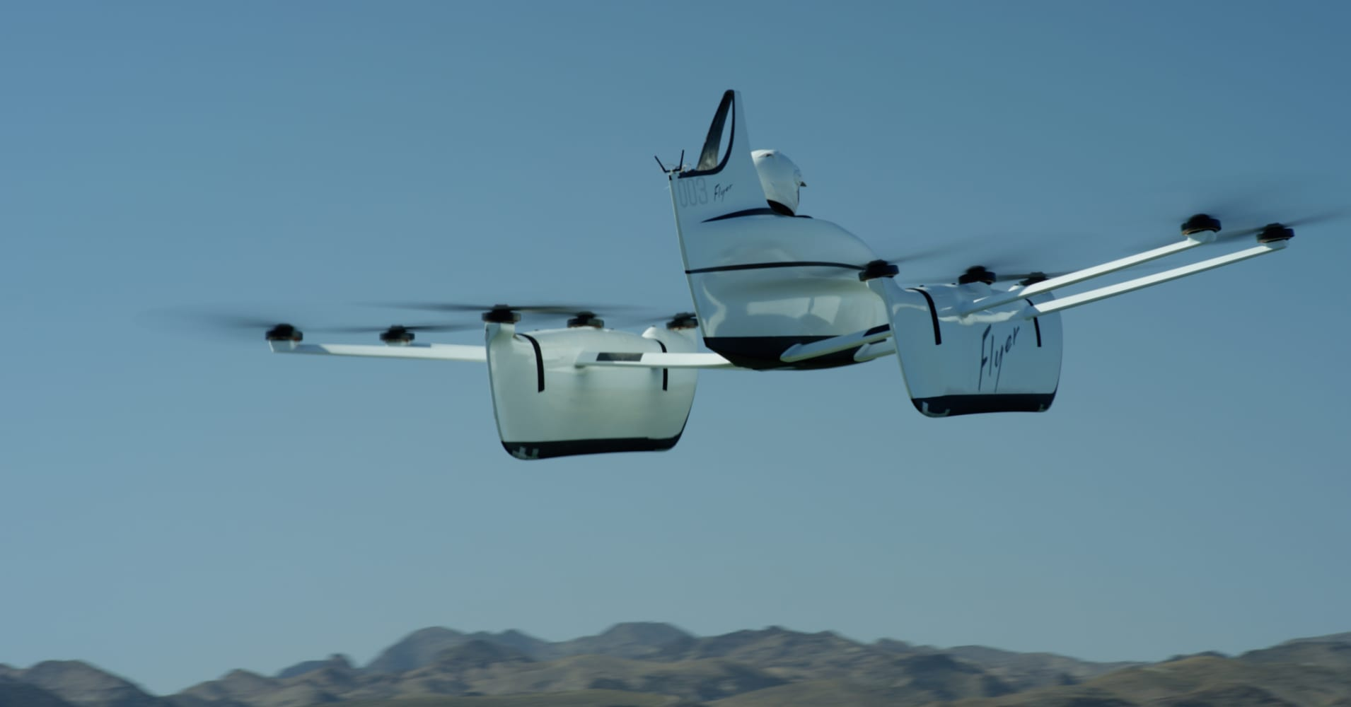 Larry Page's latest flying car can be operated with a joystick and doesn't  need a license to fly