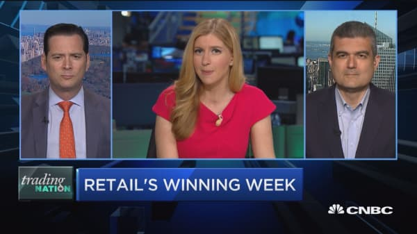 Trading Nation: Retail's winning week