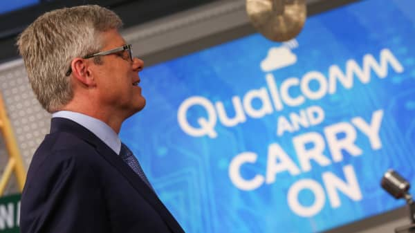 Steve Mollenkopf, CEO of Qualcomm.