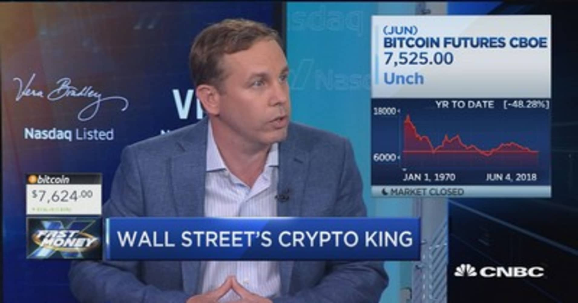Wall Street's crypto king gives his take on the future of crypto