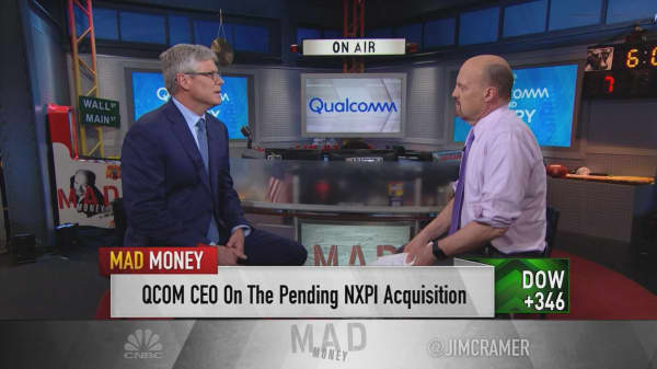 Qualcomm CEO on 'hostile' Broadcom bid: You have to engage with companies 'through the front door'