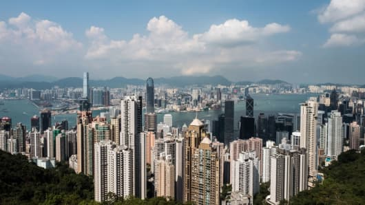 hong kong home prices are expected to fall