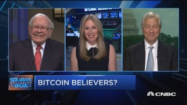 Bitcoin buyers 'beware,' says Jamie Dimon