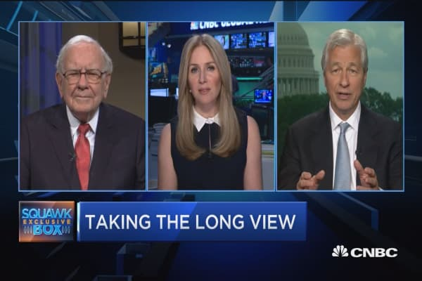 Don't hurt your company with short term views, says Jamie Dimon