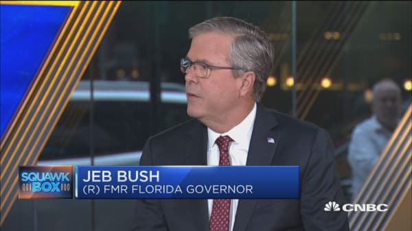 Jeb Bush on tackling college costs by providing 'Freshman Year for Free' program. Here's how it works