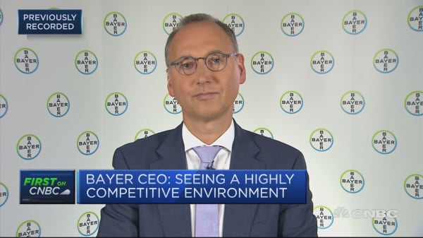 Bayer CEO: Seeing a highly competitive environment