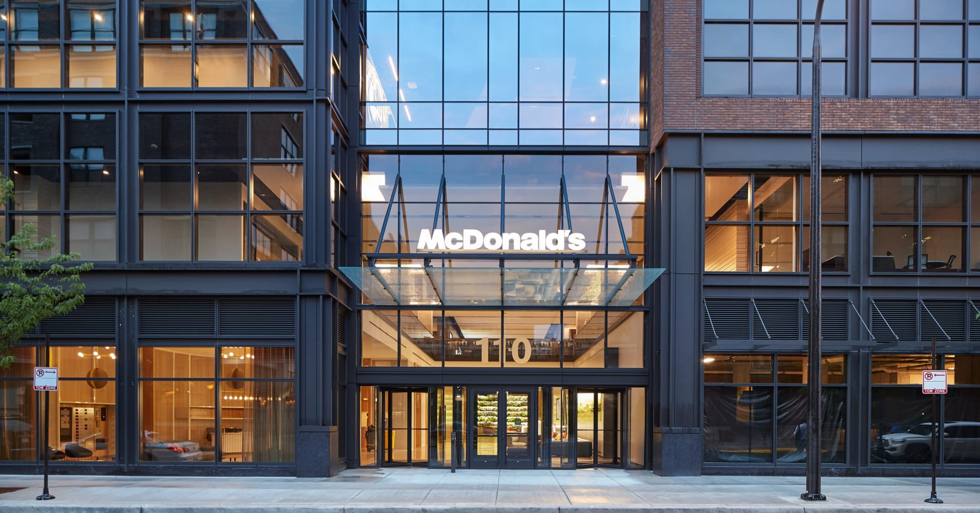 Mcdonald 39 s opens new 250 million headquarters here 39 s what it looks like inside - Mcdonald corporate office ...