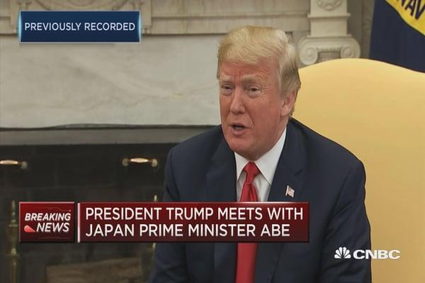 Trump talks upcoming North Korean summit and Iran