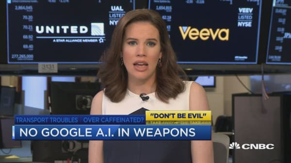 No Google A.I. in weapons