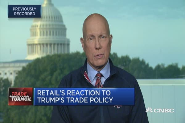 NRF CEO on tariffs: Don't want to see Trump's rhetoric out run reality