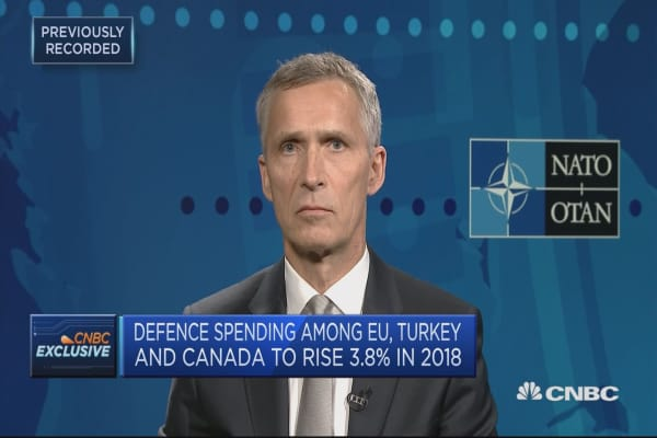 NATO secretary general: See more US troops in Europe now