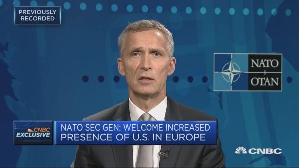 NATO secretary general: Sanctions on Russia are necessary
