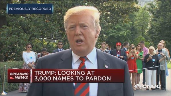 Trump: EPA chief Pruitt is doing a great job